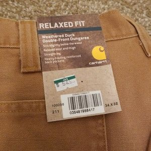 NWT Carhartt work pants